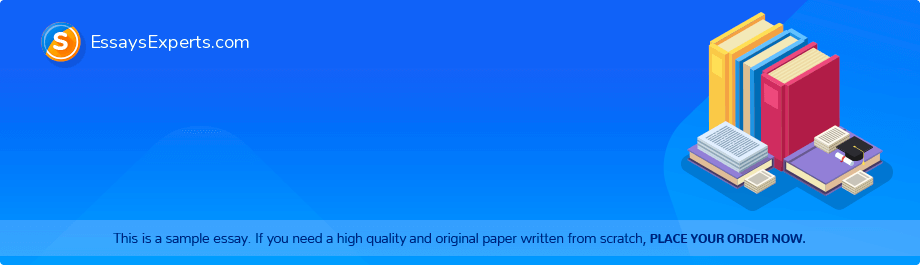 Free Essay Sample «The Four Markets»