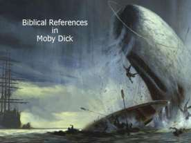 Essay Sample: Biblical References in Moby Dick